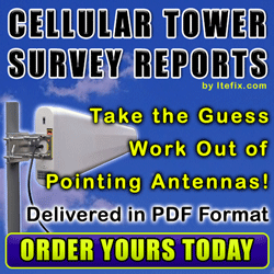 We Locate the Closest Cell Towers for Your Location